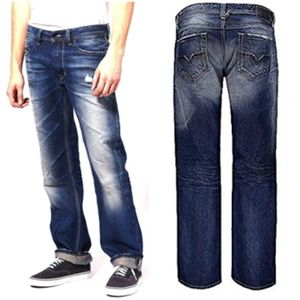 Diesel Larkee 008NE Blue Eyecons Collection Jeans